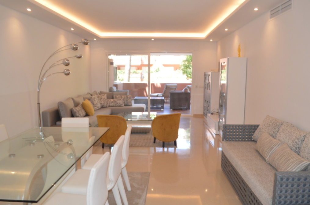ground floor apartment Marbella for long term rent